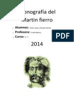 Monografía Del Martin Fierro