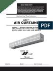 Air Curtain Install