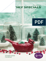 Scentsy's November 2014 Warmer of the Month Cardinal