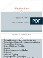Election Law -2 by Atty. Demigillo