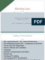 Election Law -2 by Atty. Demigillo