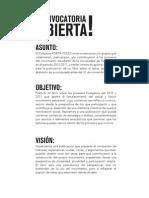Convocatoria Colectivo PORTA VOCES-2014