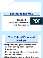 ch04 The Role of Financial Markets