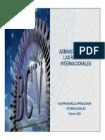 Administración de las Reservas Internacionales-Venezuela