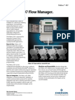 Computador de Vazão - Emerson - Floboss 407 Flow Manager