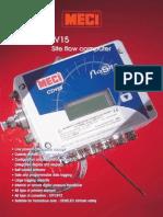 Computador de Vazão - Meci - Flosite Cdv 15