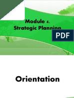 Module 4. Strategic Planning_July29