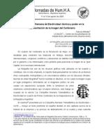 La Compania Alemana de Electricidad Tecnica y Poder en La Representacion de La Imagen Del Centenario - Patricia Mendez