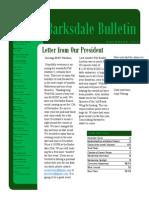 November 2014 BOSC Newsletter