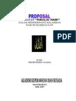 Proposal Maulid Nabi