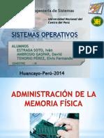 Administracion Memoria Fisica