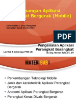 Pengenalan Aplikasi Perangkat Bergerak