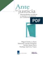 Ante La Justicia - Sociología Jurídica