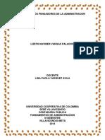 Mapas Pensadores-Lizeth Vargas