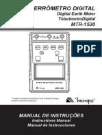 TerrômetroMTR 1530 1101 BR