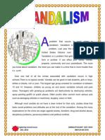 Vandalism Newsletter