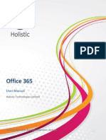 Office365 User Manual v35