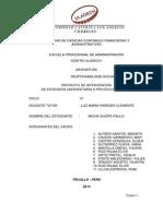 Formato 2 Proyecto de Intervencion 2014
