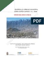 Plan de Desarrollo Urbano de SP