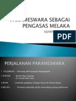 Parameswara Sebagai Pengasas Melaka