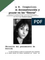 """Cragnolini Mónica, Derrida- Deconstrucción y Pensar en Las """"Fisuras"""""""