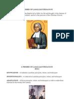 A Primer on Lasallian Pedagogy