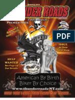 Thunder Roads New York - Premier Issue - January 2010