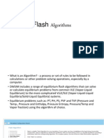 DWSIM Flash Algorithm About