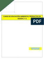 Floripe Sesion 2 y 3 Curso Educacion Ambiental