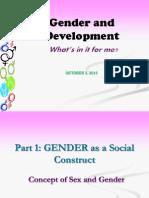 Gender Sensitivity 101