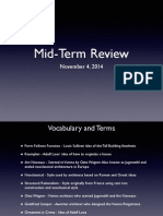 Fall 2014 Midterm Review