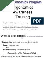 Egonomics WEEK 1-3