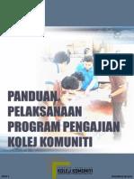 Panduan Pelaksanaan Program Pengajian Kolej Komuniti Edisi 2 - November 2014