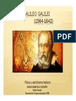 Unidad 4 Galileo Galilei - Exposición Nanni Castaño - Saber Social UPB