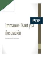 Unidad 5 Immanuel Kant y La Ilustración - Exposición Ana María Ramírez Bustamante - Saber Social UPB