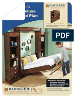 Deluxe Murphy Bed Plan Full
