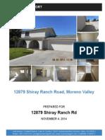 Shiray Ranch Property Report