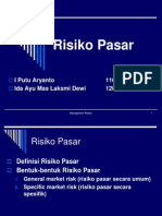 Risiko Pasar