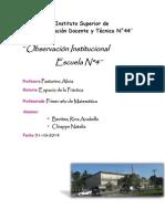 Instituto Superior de       Formación Docente y Técnica N.docx