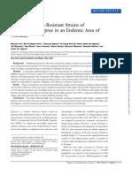 Analysis of Drug-Resistant Strains Of