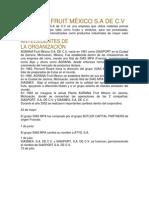 AGRANA FRUIT MÉXICO Proyecto Logistica y Cadena de Suministro