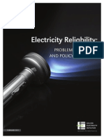 Electricity Reliability 031611