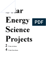 Solar Energy Science Projects