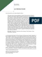 2011 Robert Kelly - German Korea Unification Parallel