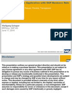 Setting Up a Simple Application With SAP Business Rule Framework