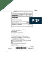 GCE Physics 6PH01