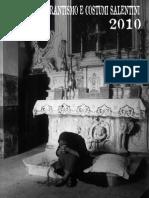 Calendario 2010 Centro sul Tarantismo e Costumi Salentini di Galatina (LECCE)