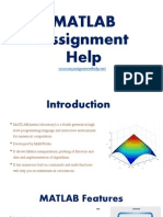 MATLAB Assignment Help myassignmenthelp.net