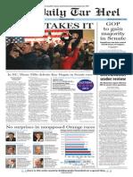 The Daily Tar Heel for Nov. 5, 2014