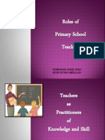 TOPIC 5- Teacher as Knowledge and Skill Practitioner